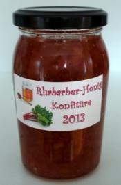 Rhabarber-Honig-Konfitüre - Rezept - Bild Nr. 2