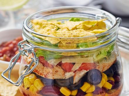 Tortilla Salat - Rezept - Bild Nr. 2