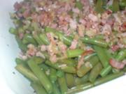 Bohnensalat mit Speck - Rezept