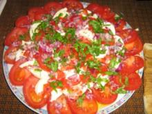 Tomaten-Mozarella-Carpaccio - Rezept