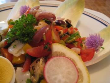 Salat von Meeresfrüchten - Rezept