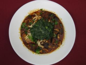 Rezept: Beef Noodles Taiwanese Style