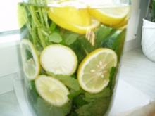 Zitronen - Melissen - Sirup - Rezept