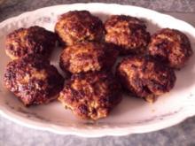 Chilli-scharfe Frikadellen - Rezept