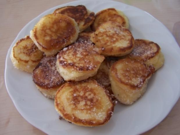 Hefe-Quarkbällchen - Rezept