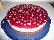 Rotkäppchen - Torte - Rezept