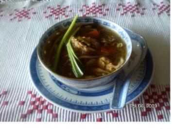 Chinasuppe - Rezept