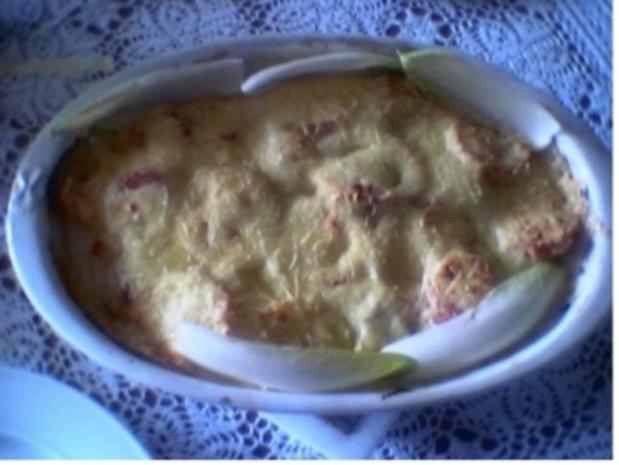 Hähnchen- Chicoree- Auflauf - Rezept - Bild Nr. 2