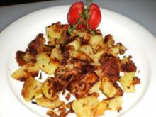GEMÜSE: Bratkartoffeln krosser geht nicht - Rezept