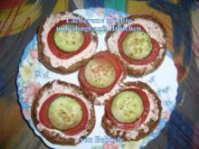 Zwischenmahlzeit: Lachscreme möchte unbedingt aufs Brötchen - Rezept
