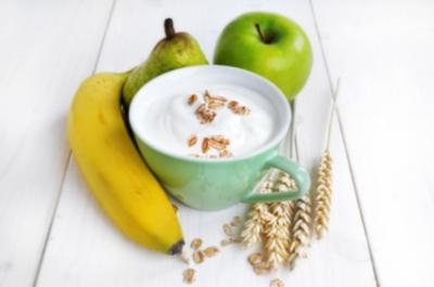 Müsli mit Fruchtjoghurt - Rezept