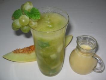 Melonen - Trauben - Gelee - Rezept