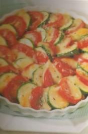 Kartoffel-Gratin mit Zucchini und Tomaten - Rezept
