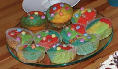 "Muffins ""Papagei"" - Rezept"