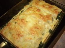 Lachs - Lasagne mit Spinat - Rezept
