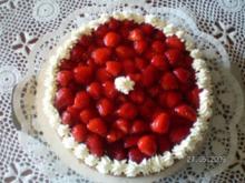 Erdbeer-Käsekuchen - Rezept