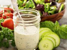 SALATDRESSING: Joghurt - Mayonnaise - Dressing - Rezept - Bild Nr. 2