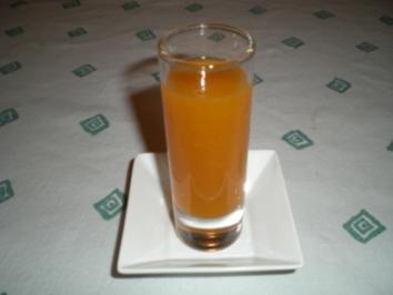 Wachauer Marillen Frucht Likör - Rezept