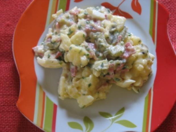 a la omi: festlicher kartoffelsalat - Rezept