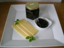Zwetschgen in Balsamico & Rotwein - Rezept