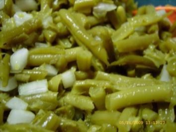 Bohnensalat - Grillbeilage - Rezept