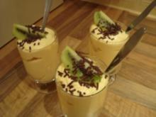 *Dessert - Paradiesische Pfirsichcreme mit Ananas à la Dane - Rezept