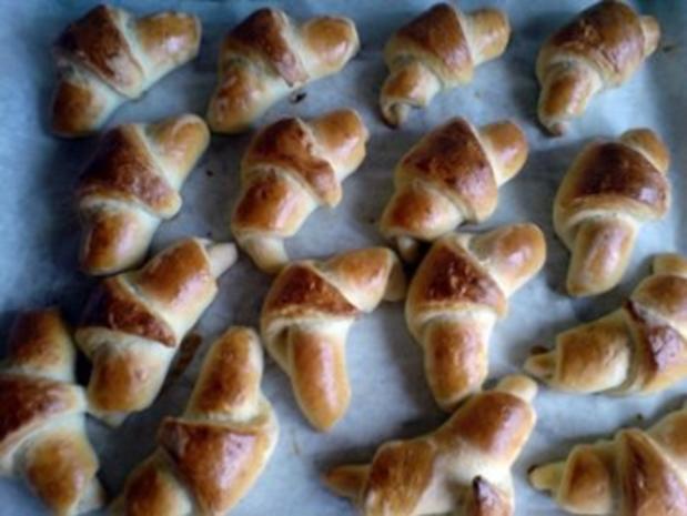Brot ~ Hörnchen - Rezept - Bild Nr. 9