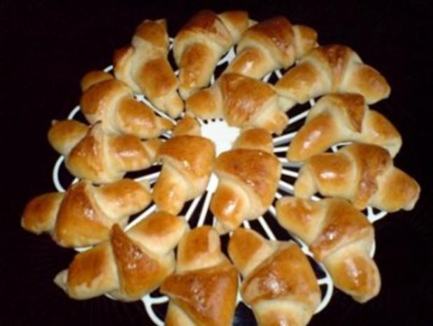Brot ~ Hörnchen - Rezept