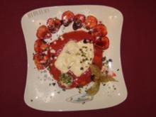 Cantuccini-Amaretto-Creme auf Erdbeeren - Rezept