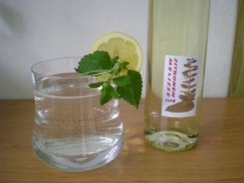 Sirup : Zitronenmelissen Saft - Rezept