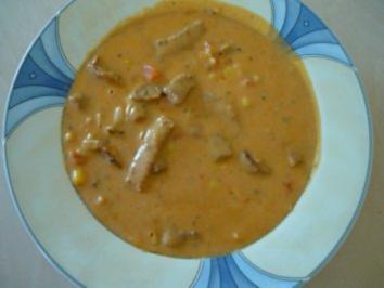 Rezept: Gyros Suppe