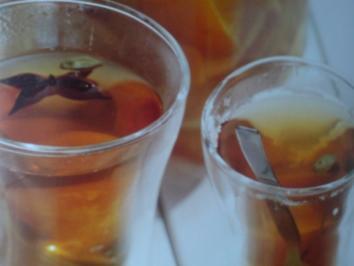 Gewürzter Orangensirup - Rezept