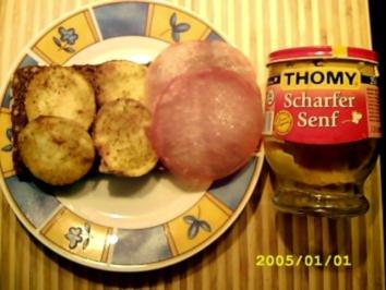 Kartoffel auf's Brot - Rezept