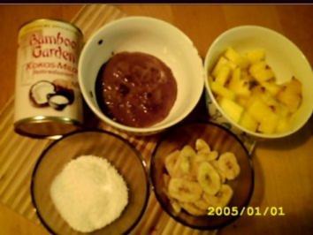 Pina Chocolada-Pudding - Rezept
