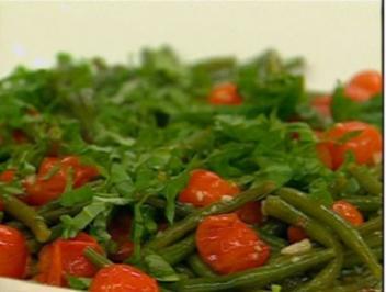 Grüne Bohnen italienisch - Rezept