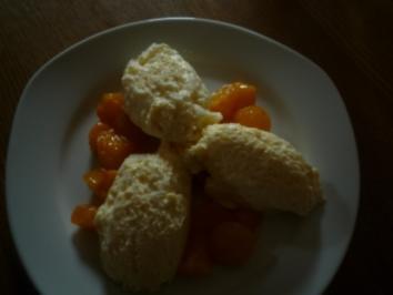 Mittagsmenue Dessert - Rezept