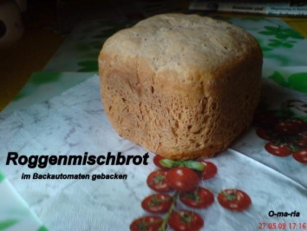 Brot ~ Roggenmischbrot auch für BBA geeignet - Rezept - Bild Nr. 2