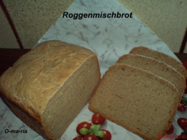 Brot ~ Roggenmischbrot auch für BBA geeignet - Rezept