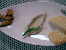 Algerisches Hühnchen mit Auberginenpaste und selbstgemachtem Brot - Rezept