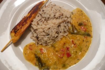 Scharfes Mango-Curry - Rezept