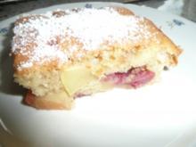 Tassenkuchen für ganz eilige mit Obst - Rezept