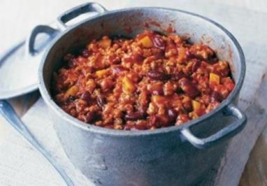 Chili con Kahn – Geflügelchili mit Aprikose - Rezept