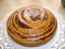 Zebrakuchen - Rezept