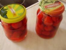 Erdbeeren für die kalten Tage - Rezept