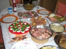Geburtstags-Buffet  ***Party - Rezept