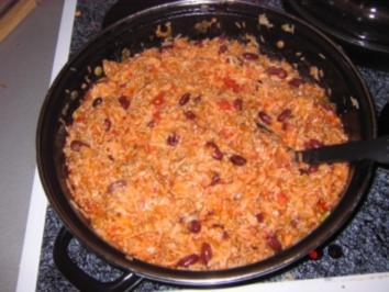 Hackfleisch-Reis-Topf - Rezept