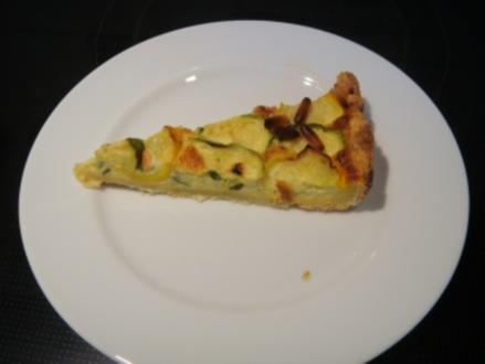Gemüse: Zucchinikuchen - Rezept