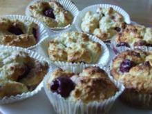 Kirsch-Quark-Muffins - Rezept