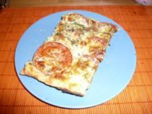 Zuccini-Tomaten-Quiche - Rezept