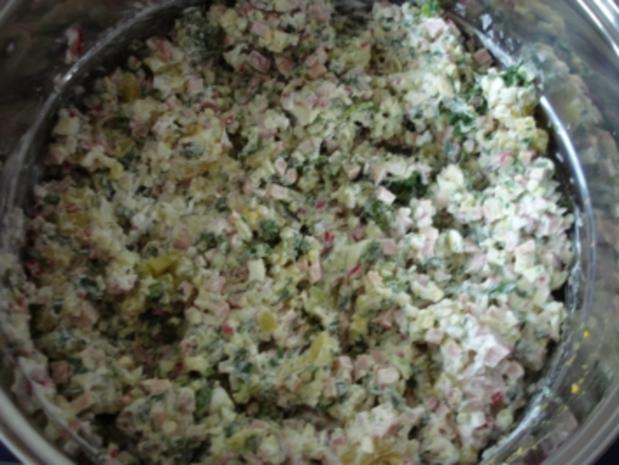 Okroschka (russische kalte Suppe) - Rezept - Bild Nr. 11